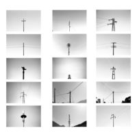 Tea-Andreoletti,-Archive-of-electricity-pylons,-2015-work-in-progress